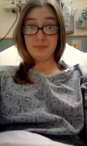 Yes, I took a selfie in the Emergency Department while waiting for an MRI.